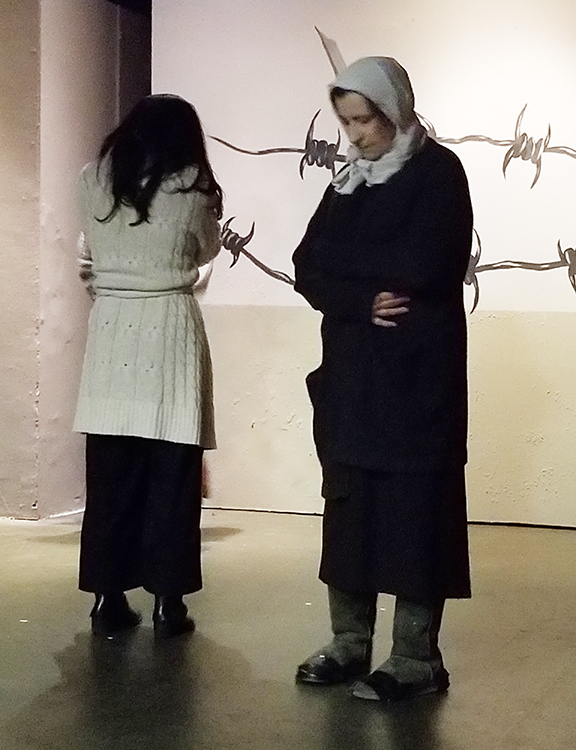 """""""Mountain Language,"""" one of three one-acts by Harold Pinter being presented by the Armenian Theatre Company as part of """"Oppression"""""""