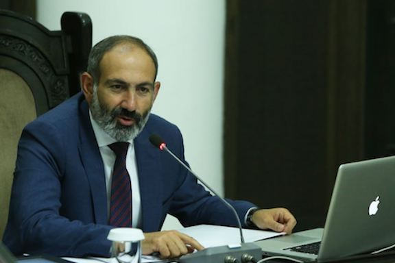 Prime Minister Nikol Pashinyan chair cabinet meeting