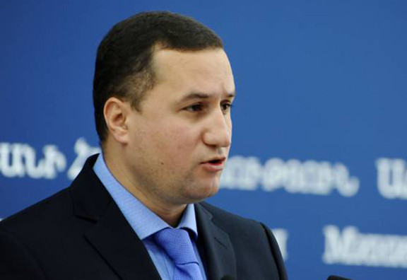 Armenia's Foreign Ministry spokesperson Tigran Balayan