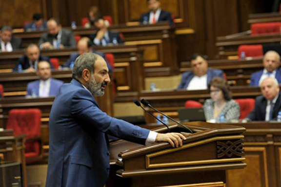 Prime Minister Nikol Pashinyan presents his government's program to parliament on Thursday