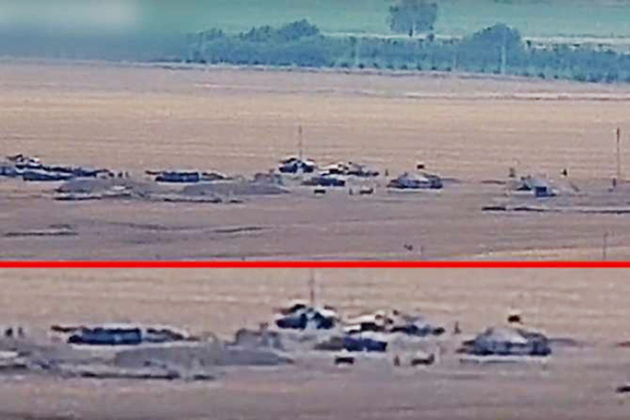 Artsakh Defense Ministry released footage showing mobilization by Azerbaijan on the Artsakh border