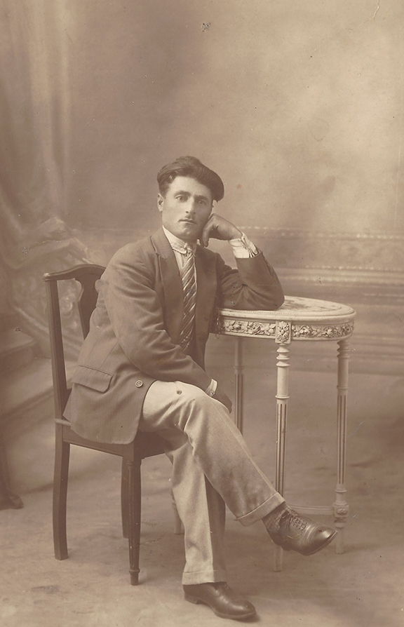 The author's father, Harutun Kevorkian, in 1930