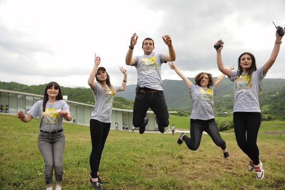 COAF youth in Armenia.
