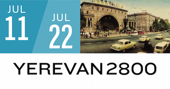 YEREVAN2800 will run from July 11–22 at the Downtown Central Library in Glendale.