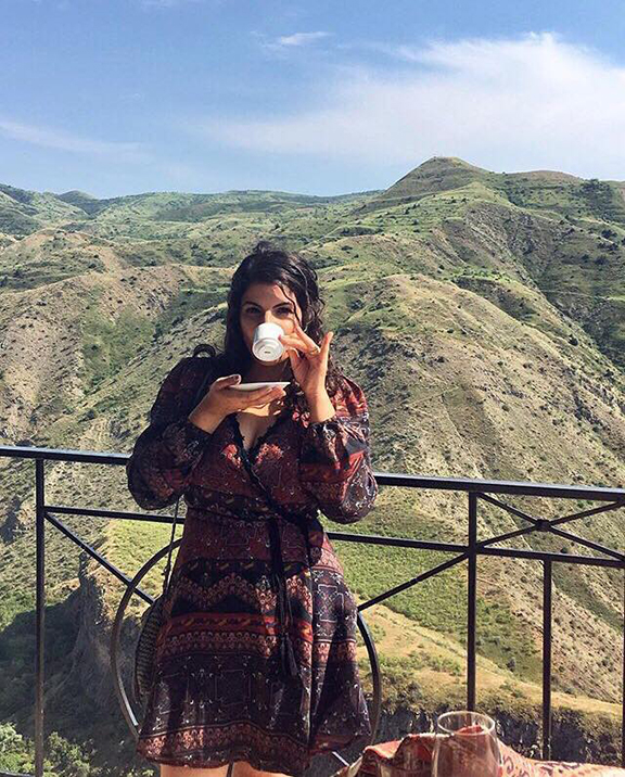 Ani Carla Kalafian, an Armenian-American living in Glendale, is keeping the art of coffee cup reading alive today.