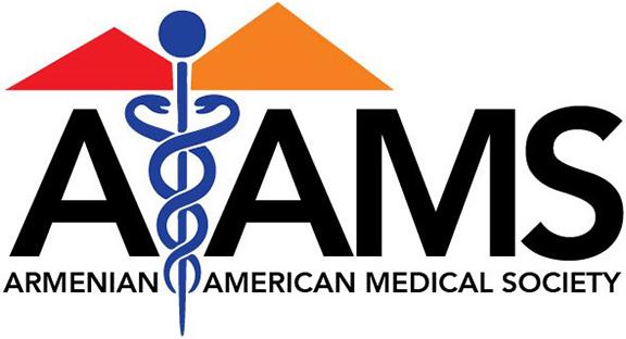 The Armenian American Medical Society Logo