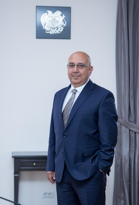 Armenia's Consul General to L.A. Armen Baibourtian