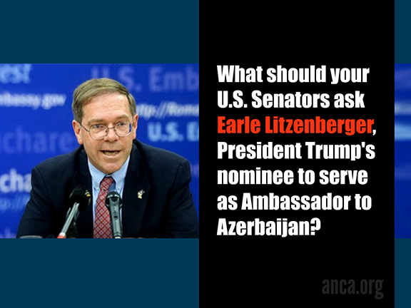 Activists nationwide are urging their Senators to ask the tough questions from Earle Litzenberger
