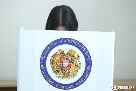 43.65 percent of Yerevan voted participated in Sunday's special Mayoral Elections