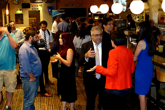 : A scene from the ANCA Professionals Mixer at Provision 14.