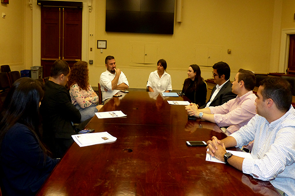 ANCA CGP Fall Fellows sat down with Congressional Armenian Staffers Association (CASA) co-chairs Maria Martirosyan and Juliya Grigoryan and a bipartisan group of Armenian American staffers for a chat about life and work on Capitol Hill.