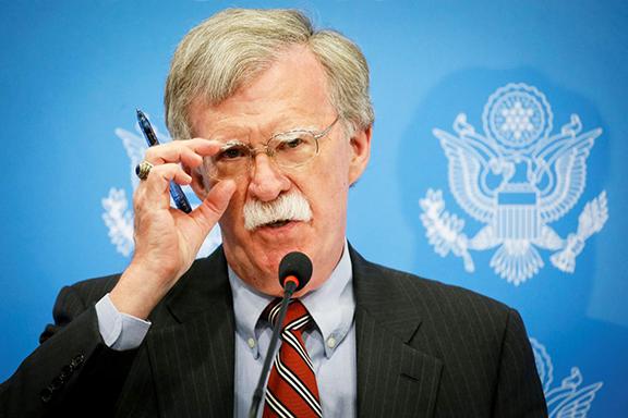 National Security Advisor John Bolton
