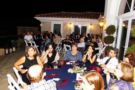 Guest enjoy Hamazkayin 90th anniversary gala kickoff event