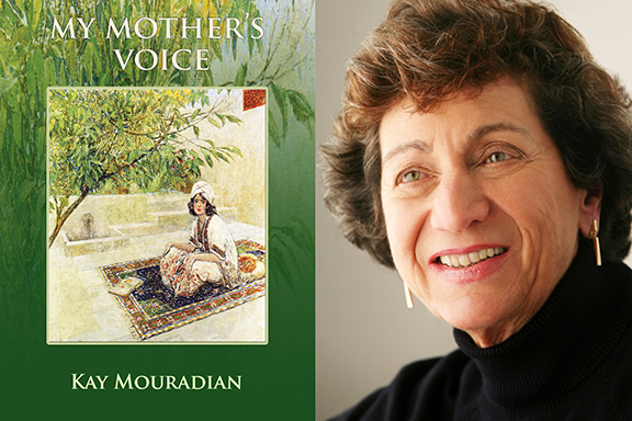 """Dr. Kay Mouradian is the author of """"My Mother's Voice"""""""