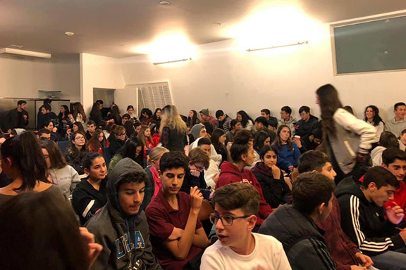 """It was a packed house for the AYF """"Roupen"""" Chapter's Extra Credit Night"""