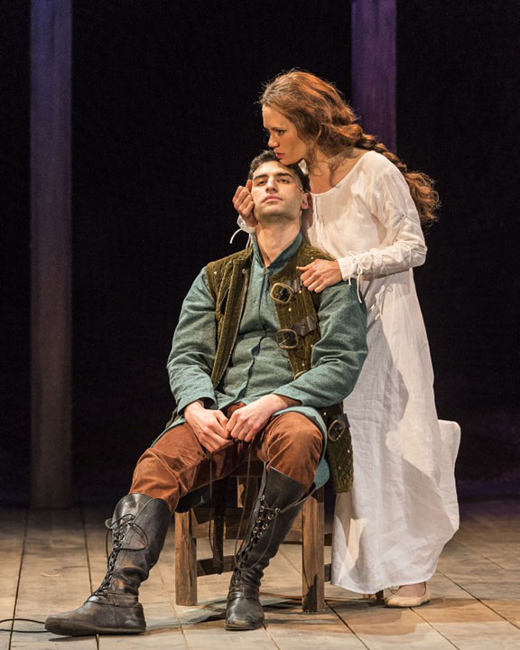 """Raffi Barsoumian's turn as Hotspur in """"Henry IV"""" was among the year's best performances. (Photo by Craig Schwartz)"""