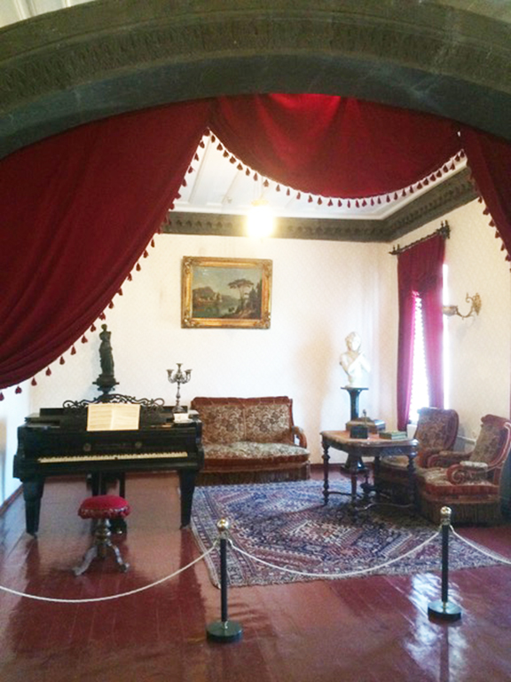 Replica of an aristocratic living room and a dinning room late 19th century in Gyumri