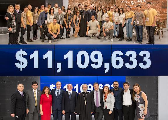 Armenia Fund Telethon raised more than $11 million