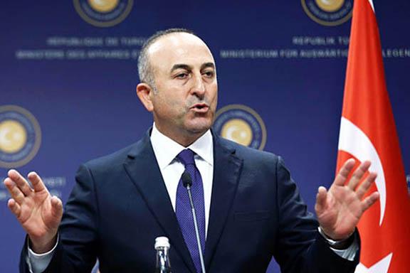 Turkey's Foreign Minister Mehmet Cavusoglu