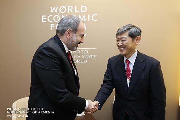 Pashinyan met with Japan International Cooperation Agency president Shinichi Kitaoka