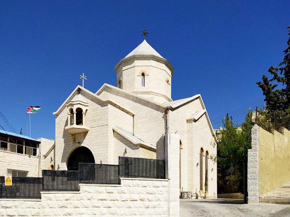 he St. Thaddeus Church in Amman
