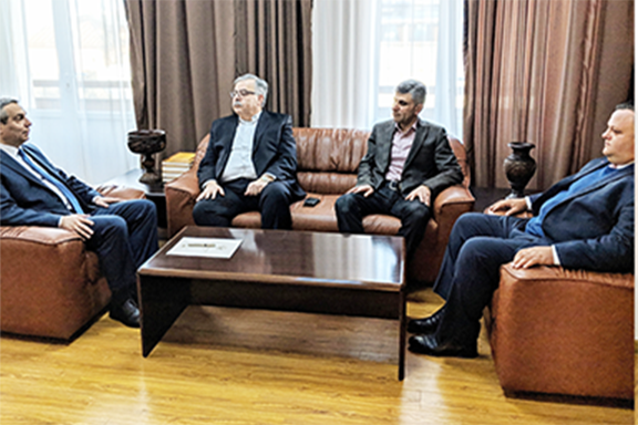 ANC-Austrialia and ANC leaders with Artsakh Foreign Minister Masis Mayilyan