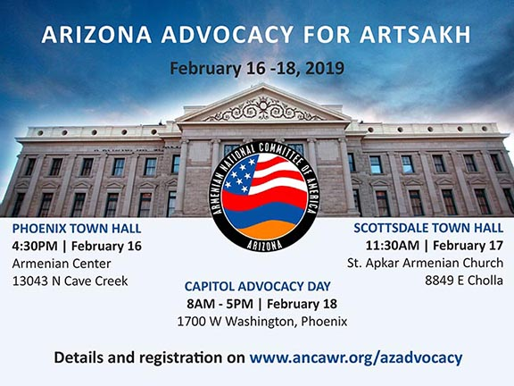 Artsakh Advocay Day to take place in Arizona