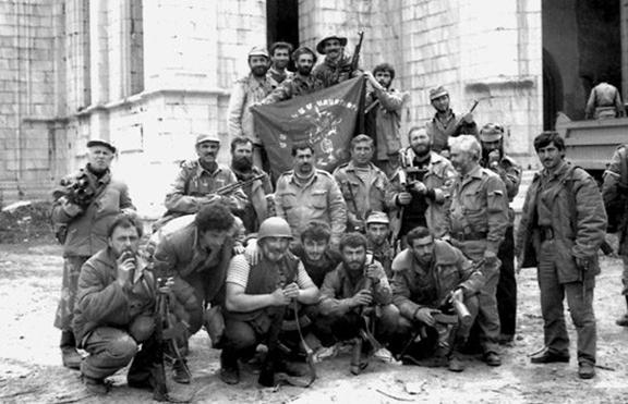 The ARF batallion during the Artsakh Liberation War