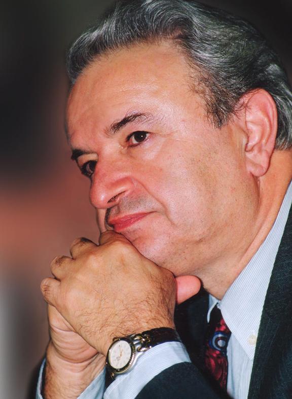Long-time ARF Bureau chairman Hrair Maroukhian