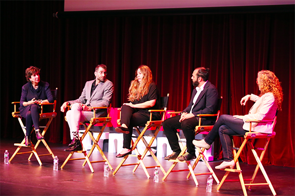 A panel discussion during last year's Innovate Armenia event