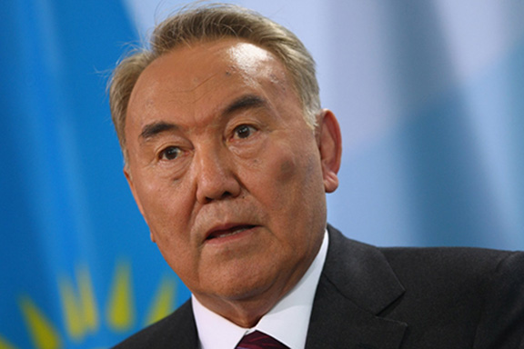 Kazakhstan's president Nursultan Nazarbayev unexpectedly resigned on Tuesday