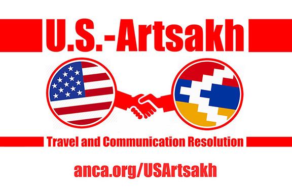 US Artsakh Travel and Communication.jpg: Pro-Artsakh advocates are encouraged to urge their U.S. legislators to cosponsor Rep. Pallone's U.S.-Artsakh Travel and Communication Resolution by visiting anca.org/USArtsakh