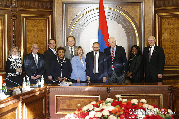 Prime Minister Nikol Pashinyan welcomed a US Congressional delegation to Armenia