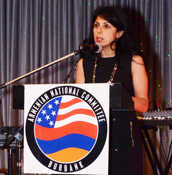 Dr. Souzy Ohanian will serve as Mistress of Ceremonies of the ANCA Burbank banquet