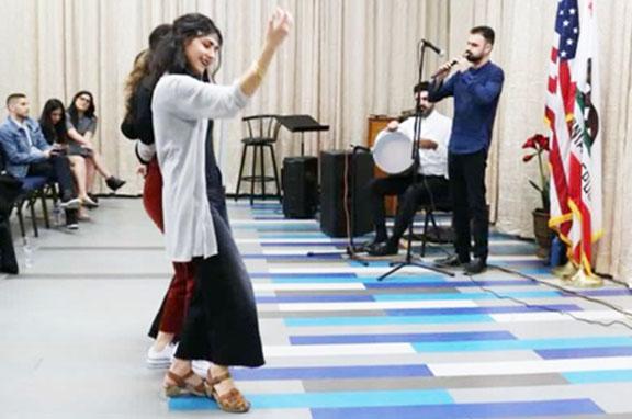 A performance by Lernazang Ensemble