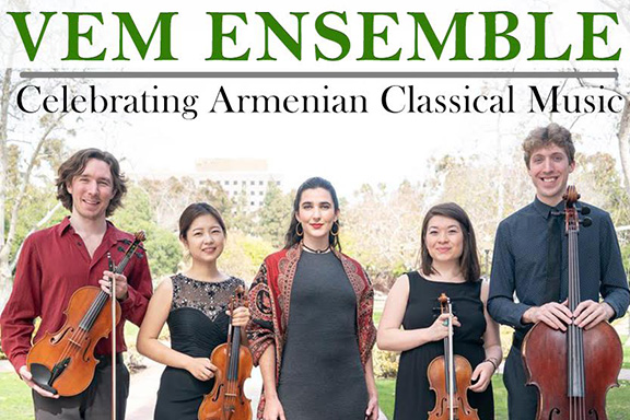 VEM Ensemble will perform at Abril Bookstore