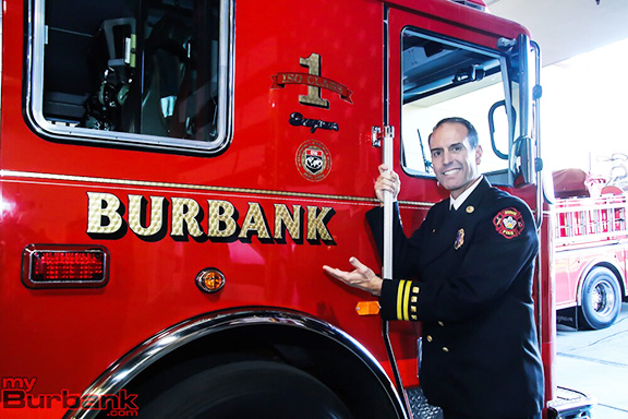 Burbank Fire Chief Eric Garcia will be honored by the ANCA-Burbank