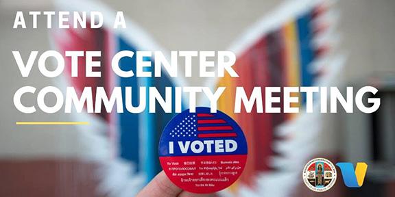 ANCA-WR Vote Center Community Meeting