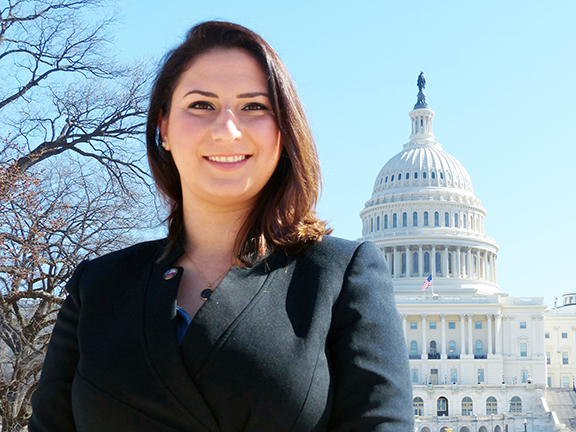 Tereza Yerimyan will be advancing ANCA advocacy priorities on Capitol Hill and with the Administration