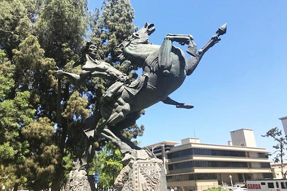 The statue of David of Sassoon