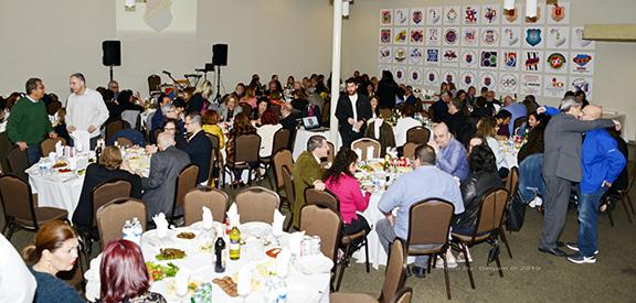 More than 200 attended the Homenetmen Hrashq inaugural fundraiser