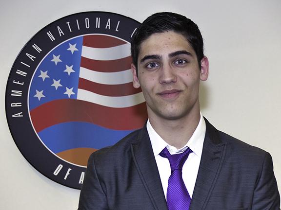 2019 ANCA Capital Gateway Program Summer High School Intern Hayk Safaryan