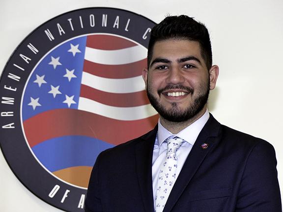 2019 ANCA Leo Sarkisian Intern Hakop Hajibekyan