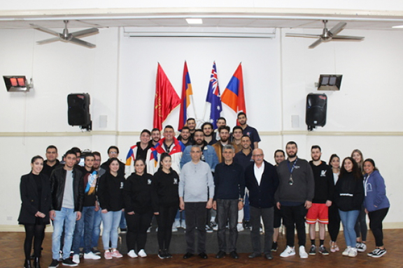 Republic of Artsakh Foreign Minister Masis Mayilyan and National Assembly Member Davit Ishkhanyan met with Armenian youth during their visit to Sydney, Australia