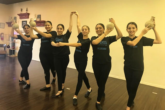 Izabel Martirosyan's dance students