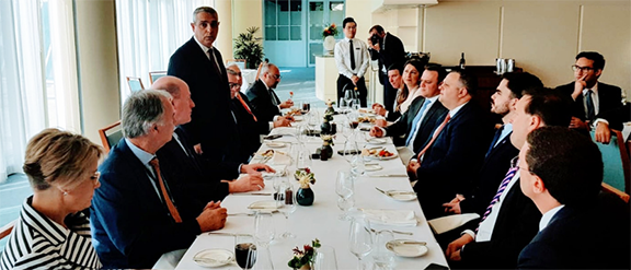 Australian politicians held a welcome reception for the delegation visiting from Artsakh