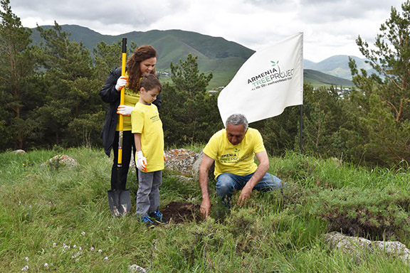 A scene from an ATP tree planting. ATP is celebrating its 25th year of growth