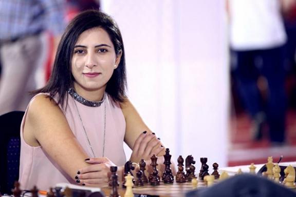 Armenia's National Women's Chess champion Maria Gevorgyan