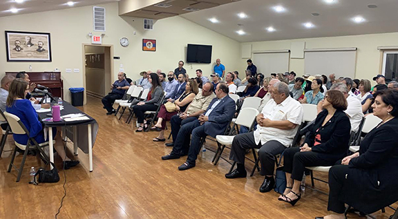The ANCA organized a candidate forum with candidates Loraine Lundquist and John Lee, as well as Armenian-American community members