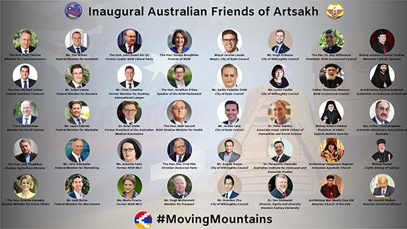 The 40 Australian signatories